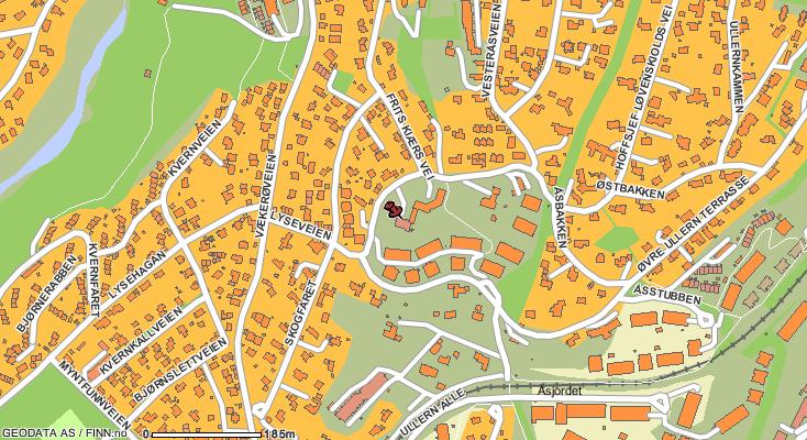 ullern kart Kart Ullern | Kart